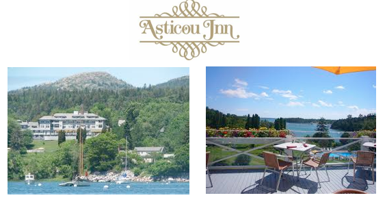 Enjoy lunch on the terrace while taking in the beauty of Northeast Harbor.