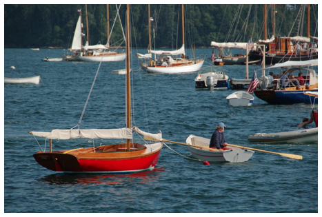 Brooklin is a Mecca for sailors and boatbuilders - especially wooden boats.