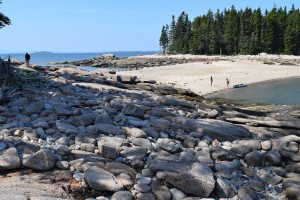 Barred Island is accessible at low tide.  Bring a picnic and enjoy the beauty of the coast.