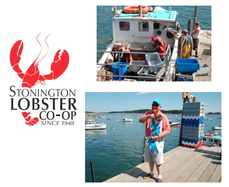 Take a bag, go down to the pier and choose your own lobster.